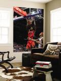 Toronto Raptors v Detroit Pistons: Amir Johnson and Charlie Villanueva Wall Mural by Allen Einstein