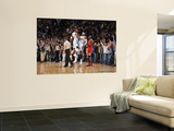Chicago Bulls v Denver Nuggets: Carmelo Anthony and J.R. Smith Wall Mural by Garrett Ellwood