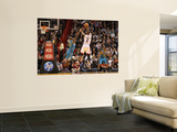New Orleans Hornets v Miami Heat: Chris Bosh and Emeka Okafor Wall Mural by Mike Unknown