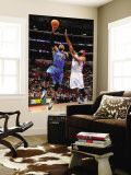 Orlando Magic v Los Angeles Clippers: Vince Carter and Baron Davis Wall Mural by Noah Graham
