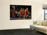 Cleveland Cavaliers  v New York Knicks, New York - March 4: Baron Davis Wall Mural by Lou Capozzola