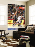 San Antonio Spurs v Los Angeles Clippers: Eric Bledsoe and Tiago Splitter Wall Mural by Andrew Bernstein