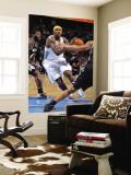 San Antonio Spurs v Denver Nuggets: Al Harrington and Dejuan Blair Wall Mural by Garrett Ellwood
