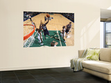 Memphis Grizzlies v Utah Jazz: Zach Randolph and Paul Millsap Wall Mural by Melissa Majchrzak