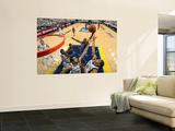 Oklahoma City Thunder v Memphis Grizzlies - Game Four, Memphis, TN - MAY 9: Nazr Mohhamed, Hamed Ha Wall Mural by Joe Murphy