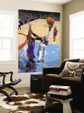 New York Knicks v Denver Nuggets: Al Harrington Wall Mural by Garrett Ellwood