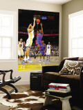 Detroit Pistons v Golden State Warriors: Andris Biedrins and Richard Hamilton Wall Mural by Rocky Widner