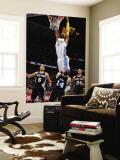 San Antonio Spurs v Denver Nuggets: J.R. Smith, Ime Udoka, Gary Neal and Richard Jefferson Wall Mural by Garrett Ellwood