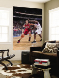 New Jersey Nets v Philadelphia 76ers: Brook Lopez Wall Mural by David Dow