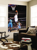 New Orleans Hornets v Philadelphia 76ers: Thaddeus Young and Chris Paul Wall Mural by David Dow