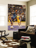 Washington Wizards v Los Angeles Lakers: John Wall, Shannon Brown and Steve Blake Wall Mural by Andrew Bernstein