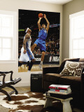 Dallas Mavericks v Denver Nuggets, Denver, CO - February 10: Dirk Nowitzki and Carmelo Anthony Wall Mural by Doug Pensinger