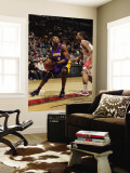 Los Angeles Lakers v Toronto Raptors: Kobe Bryant and DeMar DeRozan Wall Mural by Ron Turenne