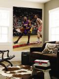 Los Angeles Lakers v Toronto Raptors: Kobe Bryant and DeMar DeRozan Wall Mural by Ron Turenne