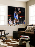 Golden State Warriors v Oklahoma City Thunder: Charlie Bell and Kevin Durant Wall Mural by Layne Murdoch