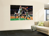Indiana Pacers v Boston Celtics: Glen Davis and Danny Granger Wall Mural by Brian Babineau