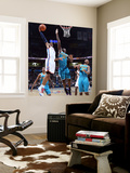 New Orleans Hornets v Oklahoma City Thunder: Russell Westbrook and Emeka Okafor Wall Mural by Layne Murdoch