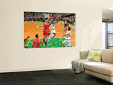 Chicago Bulls v Boston Celtics: Marquis Daniels and Joakim Noah Wall Mural by Brian Babineau