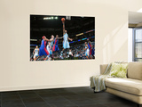 Detroit Pistons v New Orleans Hornets: Willie Green Wall Mural by Chris Unknown