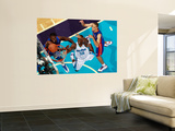 Detroit Pistons v New Orleans Hornets: Emeka Okafor and Tayshaun Prince Wall Mural by Chris Unknown