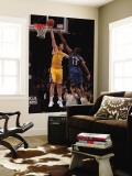 Washington Wizards v Los Angeles Lakers: Pau Gasol and Kevin Seraphin Wall Mural by  Jeff