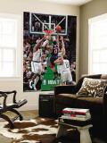 Atlanta Hawks v Boston Celtics: Jeff Teague Wall Mural by Steve Babineau