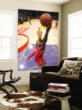 Atlanta Hawks v Los Angeles Lakers, Los Angeles, CA - February 22: Josh Smith Wall Mural by Andrew Bernstein