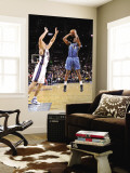 Washington Wizards v New Jersey Nets: Al Thornton and Kris Humphries Wall Mural by David Dow