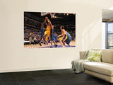 Washington Wizards v Los Angeles Lakers: Kobe Bryant, Al Thornton and JaVale McGee Wall Mural by Noah Graham