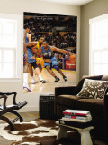 Washington Wizards v Los Angeles Lakers: Gilbert Arenas and Ron Artest Wall Mural by Noah Graham