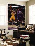 Sacramento Kings v Los Angeles Lakers: Kobe Bryant and Donte Greene Wall Mural by Jeff Gross