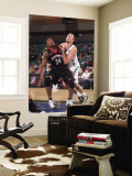 Utah Flash v Reno Bighorns: Brian Hamilton and Nick Fazekas Wall Mural by David Calvert