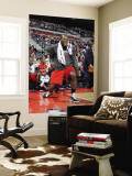 Toronto Raptors v Detroit Pistons: Joey Dorsey Wall Mural by Allen Einstein