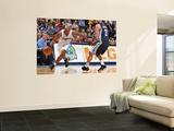 Memphis Grizzlies v Denver Nuggets: Chauncey Billups and Rudy Gay Wall Mural by Garrett Ellwood