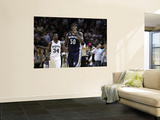 Memphis Grizzlies v San Antionio Spurs - Game Five, San Antonio, TX - APRIL 27: Zach Randolph Wall Mural by Jed Jacobsohn