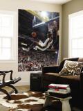 Golden State Warriors v Utah Jazz: Jeremy Evans Wall Mural by Melissa Majchrzak