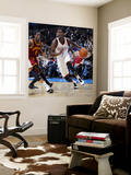 Cleveland Cavaliers  v Oklahoma City Thunder: Royal Ivey and Manny Harris Wall Mural by Layne Murdoch