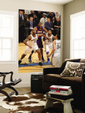 Los Angeles Lakers v Washington Wizards: Andrew Bynum, Hilton Armstrong and Cartier Martin Wall Mural by Andrew Bernstein