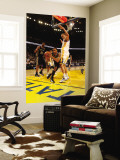 San Antonio Spurs v Golden State Warriors: George Hill Wall Mural by Jed Jacobsohn