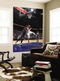 Indiana Pacers v Atlanta Hawks: Josh Smith and James Posey Vægplakat af Scott Cunningham