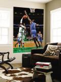 Oklahoma City Thunder v Boston Celtics: Rajon Rondo and D.J. White Wall Mural by Brian Babineau