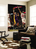Los Angeles Lakers v Chicago Bulls: Steve Blake and Taj Gibson Wall Mural by Jonathan Unknown