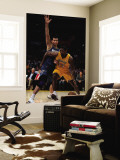 Washington Wizards v Los Angeles Lakers: Ron Artest and Yi Jianlian Wall Mural by  Jeff