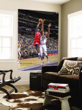 Philadelphia 76ers v New Jersey Nets: Jrue Holiday and Derrick Favors Wall Mural by David Dow