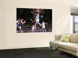Minnesota Timberwolves v Dallas Mavericks: Luke Ridnour, Kevin Love and Tyson Chandler Wall Mural by Glenn James