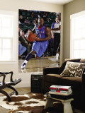 Tulsa 66ers v Texas Legends: Tweety Carter and Booker Woodfox Wall Mural by Layne Murdoch