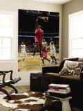Houston Rockets v Charlotte Bobcats: Jordan Hill Wall Mural by Brock Williams-Smith