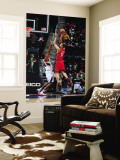 New Jersey Nets v Atlanta Hawks: Brook Lopez Wall Mural by Scott Cunningham