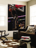 Indiana Pacers v Los Angeles Lakers: Roy Hibbert and Kobe Bryant Wall Mural by Jeff Gross