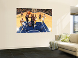 Atlanta Hawks v Indiana Pacers: Marvin Williams and T. J. Ford Wall Mural by Ron Hoskins